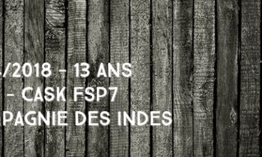 South Pacific - 2004/2018 - 13 ans - 44% - Cask FSP7 - Compagnie Des Indes - Fiji