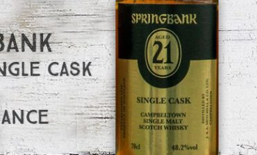 Springbank - 21 ans - Single Cask - 48,2% - OB - for France - 2016