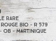 A 1710 - La Perle Rare - Canne Rouge Bio - R 579 - 52,5% - OB - Martinique