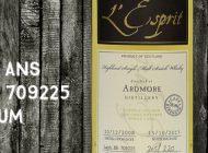 Ardmore - 2008/2017 - 8 ans - 58,8% - Cask 709225 - Whisky & Rhum - L'Esprit