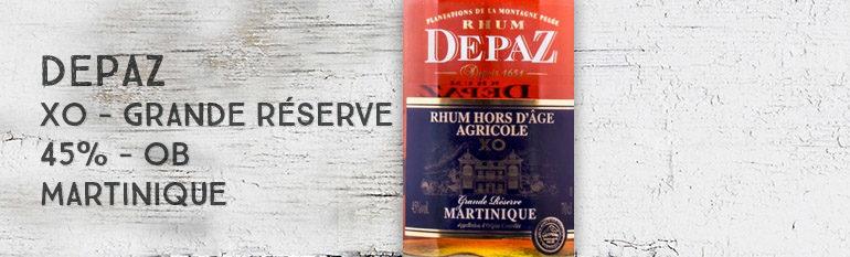 Depaz – Hors d'âge – XO – Grande Réserve – 45% – OB – Martinique