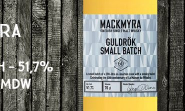 Mackmyra - Guldrök - Small Batch - 51,7% - OB - 60 ans La Maison Du Whisky