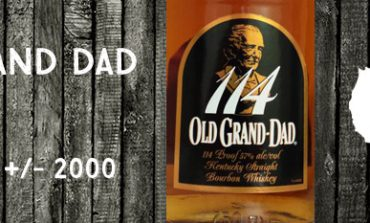 Old Grand Dad - 114 - 57% - Jim Beam - +/- 2000