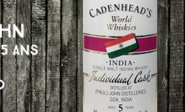Paul John - 2011/2017 - 5 ans - 57,4% - Cadenhead - Authentic Collection - World Whiskies