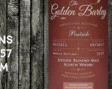 Peatside – 2011/2017 – 6 ans – 45% – Cask 5557 – Whisky & Rhum – The Golden Barley – Blended Malt
