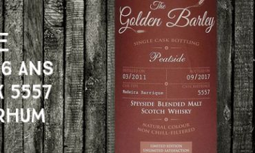 Peatside - 2011/2017 - 6 ans - 45% - Cask 5557 - Whisky & Rhum - The Golden Barley - Blended Malt