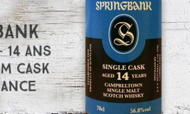 Springbank - 2003/2018 - 14 ans - 56,8% - Barbados Rum Cask - OB - for France