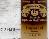 Imperial – 1970 – 17 ans – 40% – Gordon & Macphail – Connoisseurs Choice – Brown Label