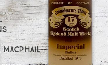 Imperial - 1970 - 17 ans - 40% - Gordon & Macphail - Connoisseurs Choice - Brown Label