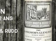 Longmorn - 1965/1977 - 12 ans - 70 proof - Berry Bros & Rudd