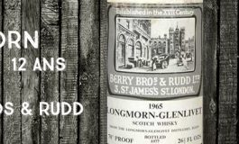 Longmorn - 1965/1977 - 12 ans - 70 proof - Berry Bros & Rudd