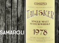 Talisker - 1978/1992 - 46% - R.W Duthies & Co - for Samaroli