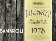 Talisker - 1978/1992 - 46% - R.W Duthies & Co - for Samaroli