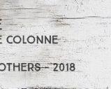 Bielle – Brut de colonne – 72,8% – Old Brothers – Guadeloupe – 2018