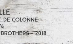 Bielle - Brut de colonne - 72,8% - Old Brothers - Guadeloupe - 2018