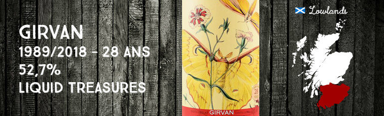 Girvan – 1989/2018 – 28 ans – 52,7% – Liquid Treasures – Entomology