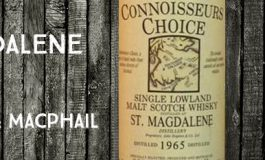 St Magdalene - 1965/1993 - 40% - Gordon & MacPhail - Connoisseurs Choice - Old Map Label