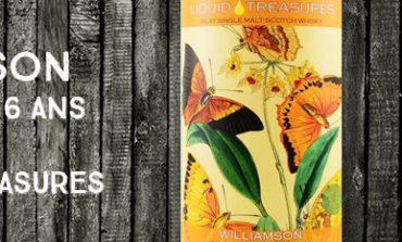 Williamson - 2011/2018 - 6 ans - 59,6% - Liquid Treasures - Entomology