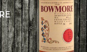 Bowmore - 1972/1990 - 43% - Samaroli - Flowers