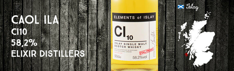Caol Ila – CI10 – 58,2% – Elixir Distillers – Elements of Islay