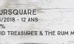 Foursquare - 2005/2018 - 12 ans - 59,8% - Liquid Treasures & The Rum Mercenary - Rum Session n°6 - Barbade