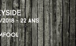 Speyside - 1995/2018 - 22 ans - 55% - Dramfool