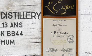 A Panama Distillery - 2004/2017 - 13 ans - 61,4% - Cask BB44 - Whisky & Rhum - L'esprit - Panama