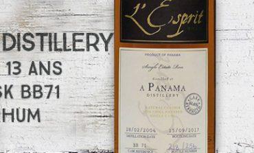A Panama Distillery - 2004/2017 - 13 ans - 61,6% - Cask BB71 - Whisky & Rhum - L'esprit - Panama
