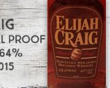Elijah Craig – 12 ans – Barrel Proof – Release 7 – 64% – Batch A215 – 2015