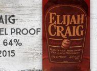 Elijah Craig - 12 ans - Barrel Proof - Release 7 - 64% - Batch A215 - 2015