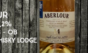 Aberlour - 14 ans - 50,2% - Cask 36573 - OB For The Whisky Lodge - 3ème édition