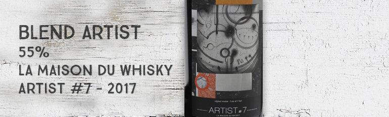Blend Artist – 55% – La Maison du Whisky – Artist #7 – Compass Box For LMDW et Velier – 2017
