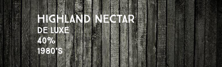 Highland Nectar De Luxe – 12 ans – 40% – 1980's