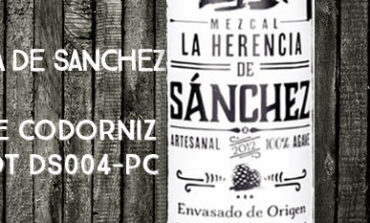 La Herencia de Sanchez - Joven - Pechuga de Codorniz - 48,3% - Lot DS004-PC