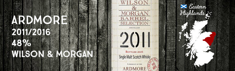 Ardmore – 2011/2016 – 48% – Wilson & Morgan – Barrel Selection