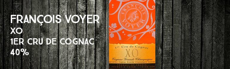 François Voyer – XO – 1er Cru de Cognac – 40%