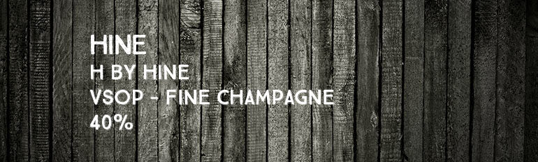Hine – H by Hine – VSOP – Fine Champagne – 40%
