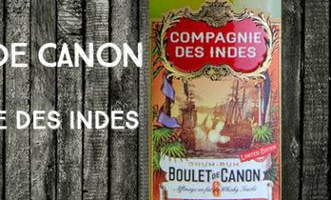 Boulet de Canon – n°6 – 46% – Compagnie des Indes – Blend – 2018