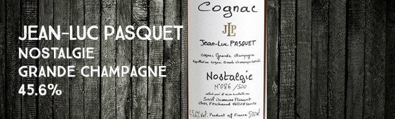 Jean-Luc Pasquet – Nostalgie – Grande Champagne – 45,6%