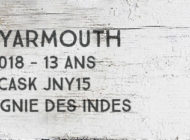 New Yarmouth - 2005/2018 - 13 ans - 55% - Cask JNY15 - Compagnie des Indes - Jamaïque